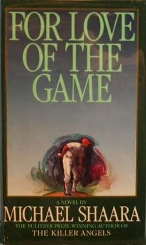 For Love of the Game - First edition cover