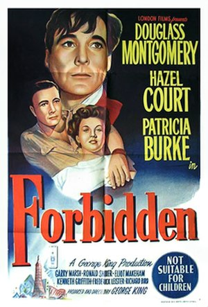 Forbidden (1949 film) - Theatrical release poster