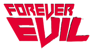 Forever Evil - Logo of Forever Evil, seen additionally on all comics that are part of the event.
