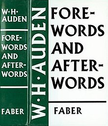 forewords and afterwords wikipedia
