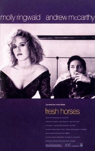Fresh Horses (film) - Theatrical release poster