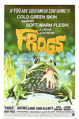 Frogs (film) - Theatrical poster for Frogs