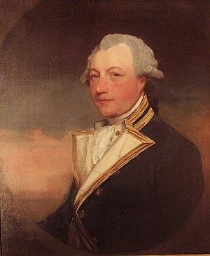 Sir Robert Kingsmill, 1st Baronet - Admiral Sir Robert Kingsmill by Gilbert Stuart
