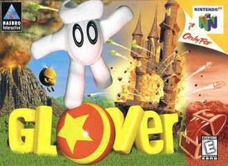 Judge a game by its cover - Page 5 330px-Glover_Nintendo_64_cover_art%2Cjpg