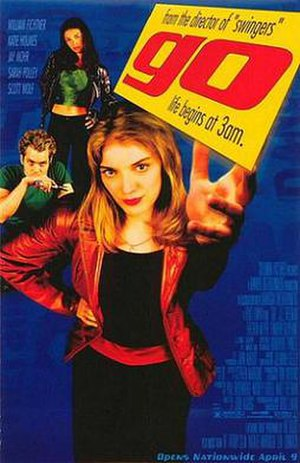 Go (1999 film) - Theatrical release poster
