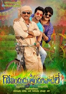 Govindudu Andarivadele poster.jpg