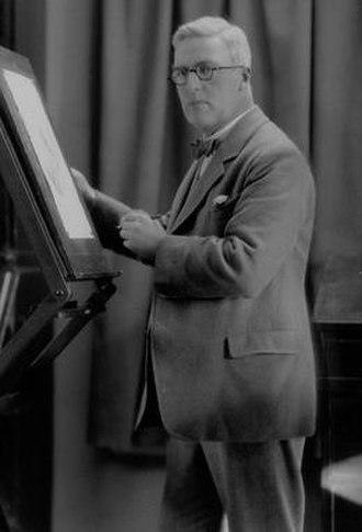 H. M. Brock - H. M. Brock in 1926