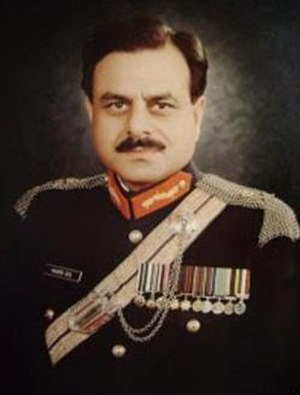 Inter-Services Intelligence - Image: Hamid Gul portrait