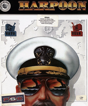 Harpoon (video game) - Image: Harpoon Coverart