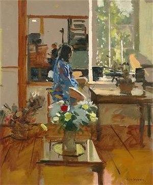 Ken Howard (artist) - Image: Howard Ken Sarah