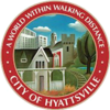 Official seal of Hyattsville, Maryland