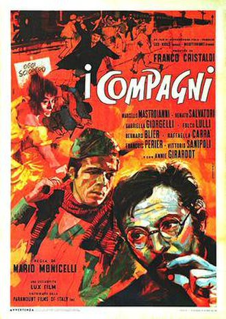 The Organizer - Italian theatrical release poster