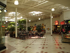 Indian Mound Mall - Food court