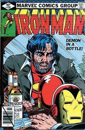 Demon in a Bottle - Image: Iron Man 128