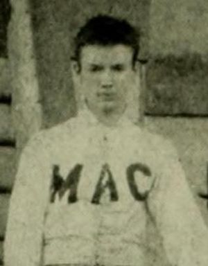 J. G. Bannon - Bannon at Maryland in 1892