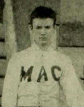 1892 Maryland Aggies football team - J. G. Bannon