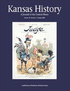 Kansas History (journal) - Image: Kansas History journal cover