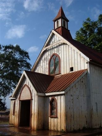 John Arthur - The Scott-Watson Memorial Church, Kikuyu Mission station, birthplace of the Alliance of Protestant Missions