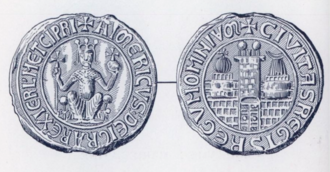 Aimery of Cyprus - Aimery's seal as King of Cyprus and Jerusalem