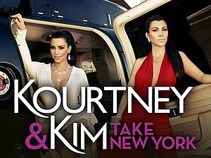 Kourtney and Kim Take New York - Image: Kourtneyand Kim Take New York Logo