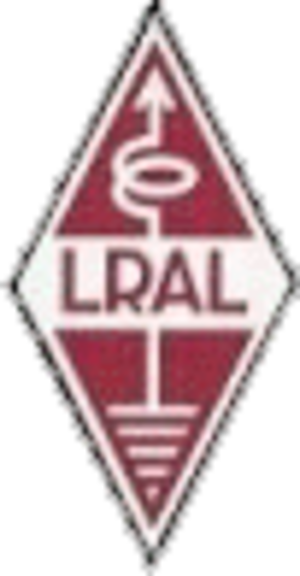 Latvijas Radio Amatieru Līga - Image: LRAL logo