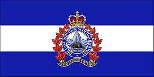 The Lake Superior Scottish Regiment - The camp flag of The Lake Superior Scottish Regiment.