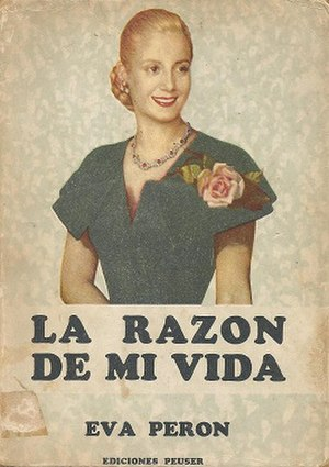 La razón de mi vida - First edition
