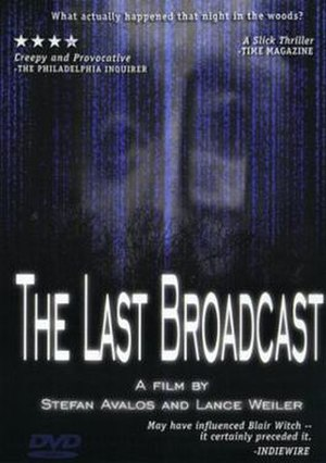 The Last Broadcast (film) - Image: Lastbroadcast