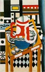 Still Life with a Beer Mug, 1921, oil on canvas