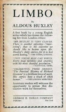 Aldous Huxley's stories, essays, & poems.