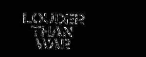 Louder Than War (website) - Image: Louder Than War Logo