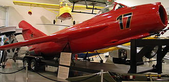 Mikoyan-Gurevich MiG-17 - MiG-17F on display at the Hiller Aviation Museum in San Carlos, California