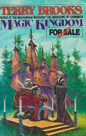 Magic Kingdom of Landover - The first edition cover to the first novel