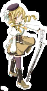 Mami Tomoe Puella Magi Madoka Magica character