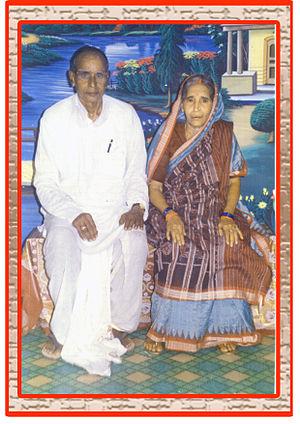 Manmohan Acharya - Pandit Mayadhar Acharya and Parvati Devi, Parents of Vanikavi Manmohan Acharya