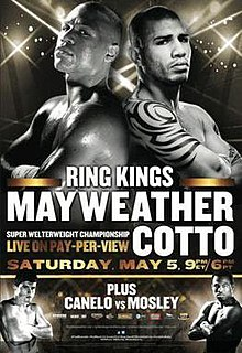 Floyd Mayweather Jr. vs. Miguel Cotto Boxing competition