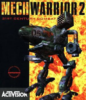 MechWarrior 2: 31st Century Combat - Image: Mech Warrior 2 cover