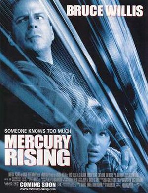 Mercury Rising - Theatrical release poster
