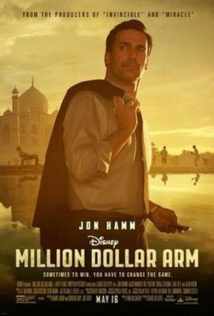 Million Dollar Arm - Image: Million Dollar Arm poster