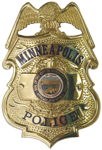 Minneapolis Police Department badge