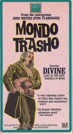 Mondo Trasho - VHS cover