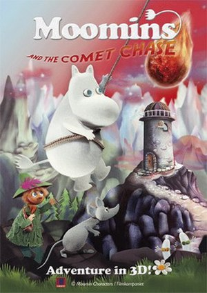 Moomins and the Comet Chase - Theatrical release poster