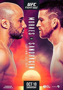 UFC Fight Night: Moraes vs. Sandhagen Fight Poster