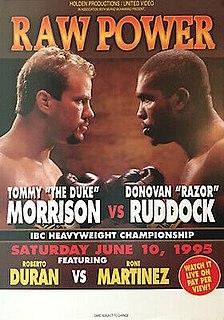Tommy Morrison vs. Donovan Ruddock