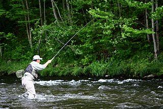 Tenkara fishing Style of fishing