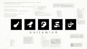 Noitamina - noitaminA's old title screen, which appears at the beginning of every show (Fuji TV only).