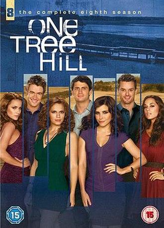 One Tree Hill (season 8) - One Tree Hill Season 8 DVD cover