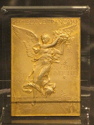 Olympic gold medal from the Paris Games of 190...