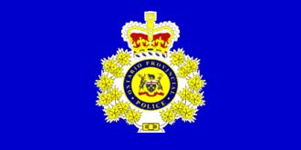 Ontario Provincial Police - OPP flag
