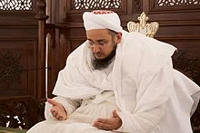 Photograph of Taher Fakhruddin, claimant of Syedna position 54th Dai al Mutlaq.jpg
